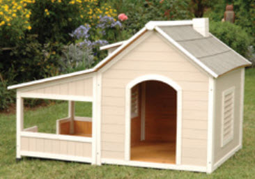 Large and small dog houses free ship no tax for Insulated heated dog house