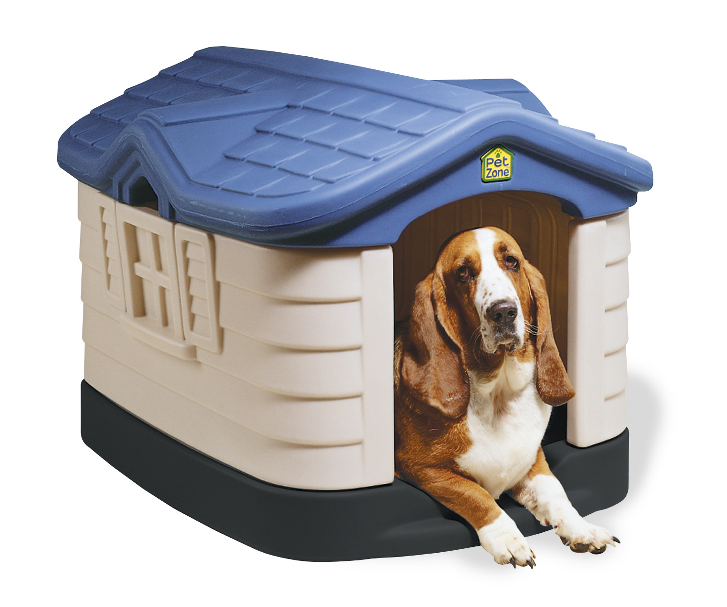 Large insulated heated air conditioned dog houses free ship for Insulated heated dog house