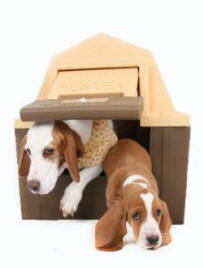 Small Insulated Dog House by ASL Solutions - DH-40 DP HUNTER Model