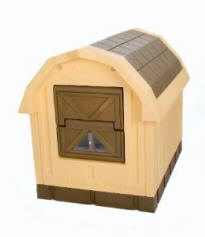 Large Insulated Dog House by ASL Solutions - DP-10 DOG PALACE Model