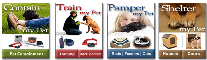 Large Dog Houses - Pet Containment - Dog Training - Bark Control