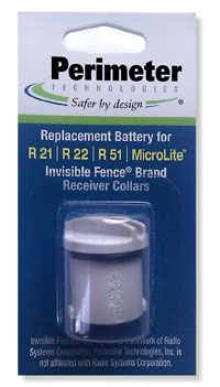 Packaged replacement batteries battery for R21, R22, R51