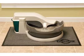 SimplyClean Litter Box with Optional Mat