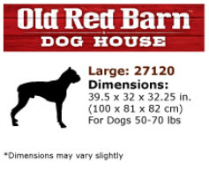 Old Red Barn Dimensions