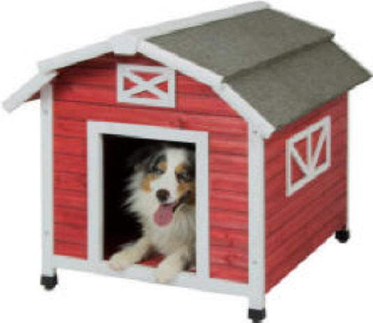 Large Insulated Dog House by Precision Pet - lOld Red Barn