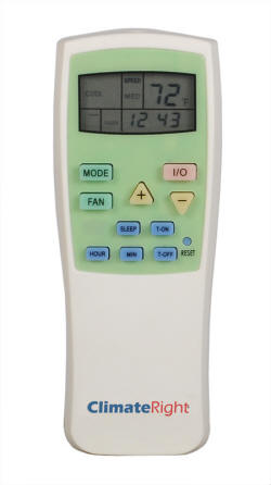 Remote Control ClimateRight CR-2500 CR-5000