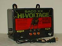 SACO-XX Fence Charger