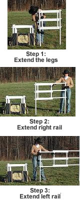 Carri-Lite Corrals - Quick and Easy Set-Up