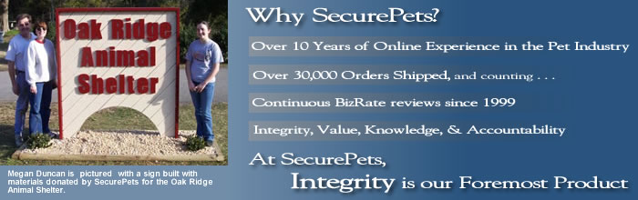 Why Choose SecurePets?
